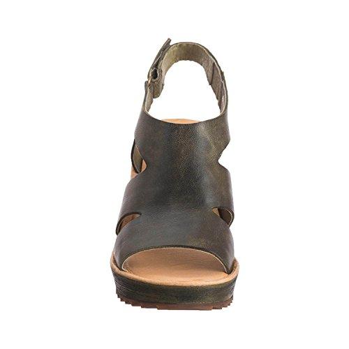 Antilop Kvinna 566 Läder Dubbel Cut Db Khaki