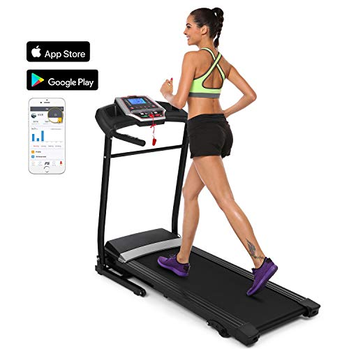 Binxin Electric Folding Treadmill Motorized Exercise and Fitness Walking and Running Machine (S569)