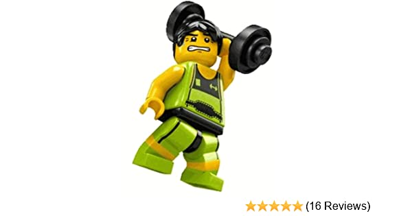 Amazon.com: LEGO 8684 Minifigure Series 2 - Weight Lifter (Loose): Toys & Games