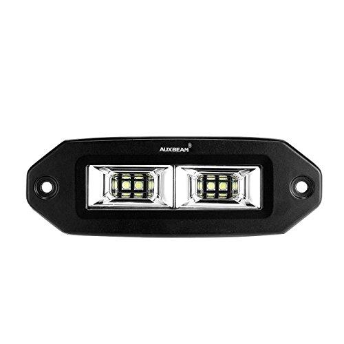 Auxbeam 7Inch Led Light bar Flush Mount LED Pods Flood Beam