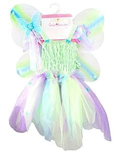 Grandes imitaciones -  disfraz  de mariposa con alas para niña (a partir de 3 años)