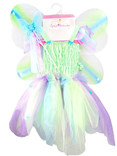 Great Pretenders Butterfly Dress/Wings Costume Dress-Up -