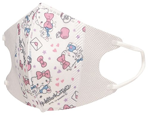 About Pcs Disposable 10 Kitty Details Face For Children Medical Hello Mask amp; Women
