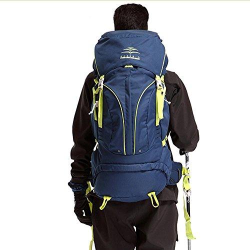 BUSL bolsos de montaña a caballo de la mochila de trekking impermeables hombros M multifunción 60L recorrido al aire libre . b b