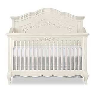 Evolur Aurora 5-in-1 Convertible Crib, Ivory Lace
