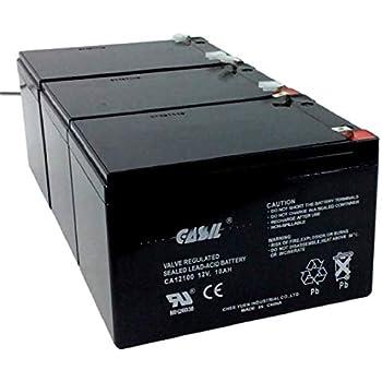 Amazon.com: Batería 12 V 12 Ah Razor F2 Fits MX500 MX650 ...