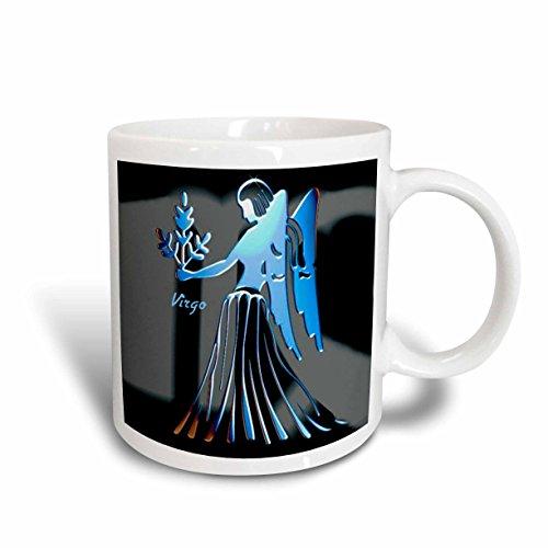 - 3dRose Virgo Zodiac Sign Mug, 11-Ounce