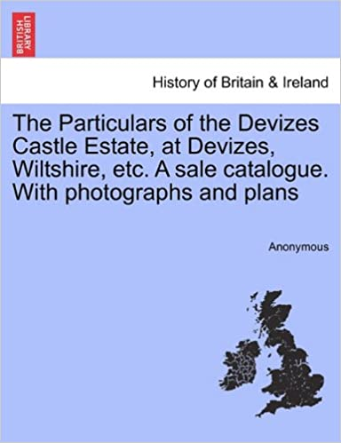 Book The Particulars of the Devizes Castle Estate, at Devizes, Wiltshire, etc. A sale catalogue. With photographs and plans