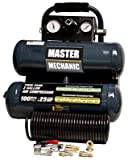 North American Tool Ind. 154850 Master Mechanic 2 Gallon Twin Tank Air Compressor