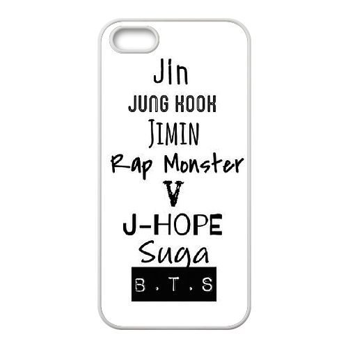 Bts Army Logo D1D86Y2JX coque iPhone 4 4s case coque cover white 66D5FI