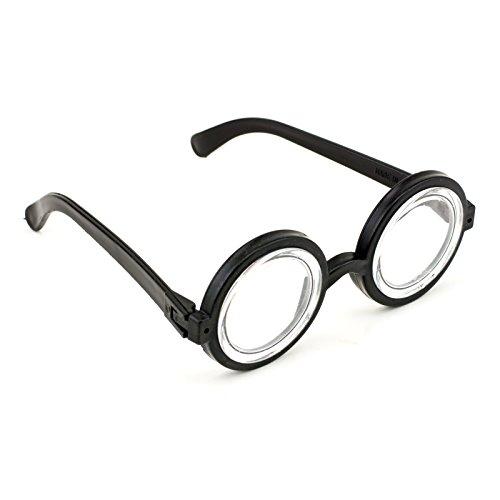 [Adorox Halloween Wizard Nerd Eyeglasses Costume Accessory Party Favor Cosplay] (Wheres Waldo Halloween)