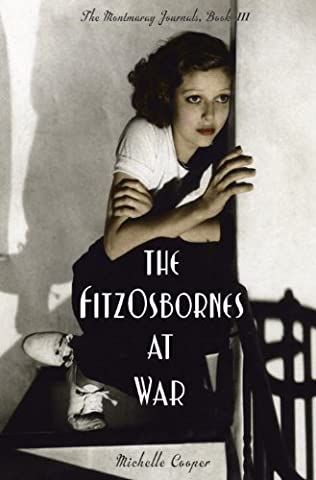 book cover of The FitzOsbornes at War