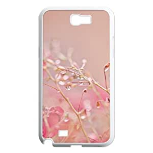 Crystal droplets Customized Cover Case with Hard Shell Protection for Samsung Galaxy Note 2 N7100 Case lxa#450260