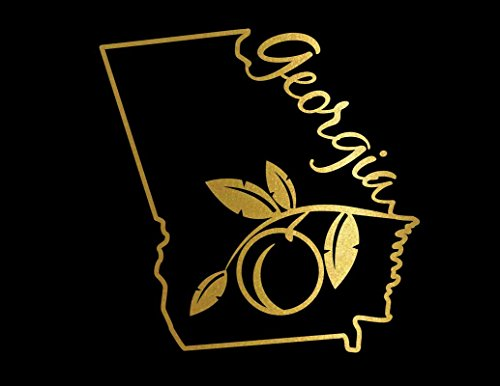 georgia peach decal - 9