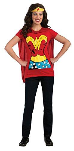 (Female Superhero T-Shirt Adult Costume Wonder Woman -)