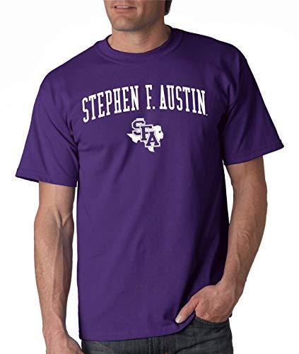 J2 Sport Stephen F. Austin State University Lumberjacks NCAA Jumbo Arch Unisex T-Shirt