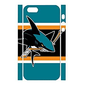 Uncommon Hockey Team Logo Antiproof Hard Plastic Phone Cover Skin Case For Iphone 4/4S Cover Case