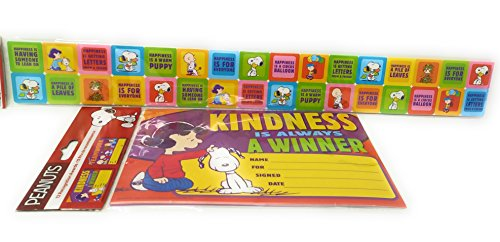 Peanuts Back to School Board Set Strips School Office Resources Teacher Teacher's Bulletin Trim Wall Border Decal Classroom Decoration Recognition Awards
