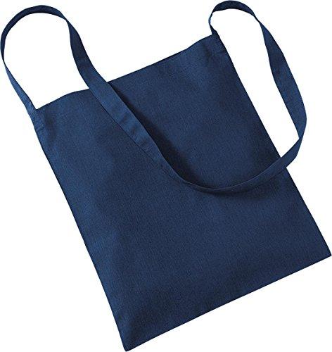 Westford Mill–Bolsa de almacenamiento bolsa de compras bolso Tote Sling Bag para la vida azul marino