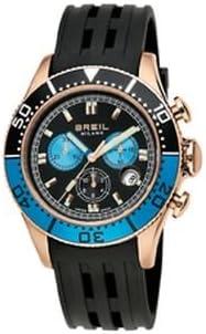Breil Correa de Reloj BW0406 Caucho/plástico Negro(Sólo Reloj Correa - Reloj NO Incluido!)
