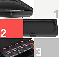 AmazonBasics - Funda rígida tipo caja para Nintendo Switch, Negro ...