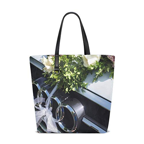 Price comparison product image Audi Q7 Suv Colors Logo Tote Bag Purse Handbag For Women Girls