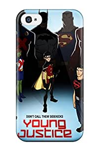 TYH - Faddish Phone Justice League Case For Iphone 4/4s Perfect Case Cover phone case