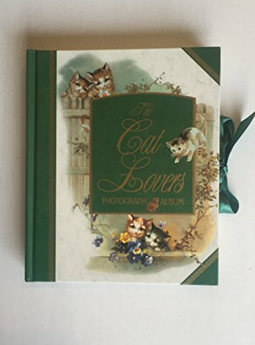 Victorian The Cat Lovers Photograph Album Vintage 1998 Pepperpot
