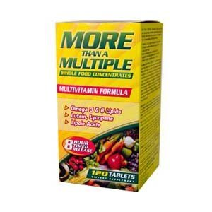 American Health More Than A Multiple Whole Food Concentrates 120 Tablets