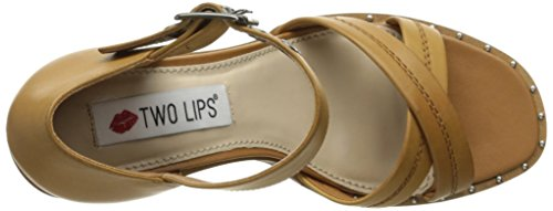 Calida Tan Pump Two Dress Lips Women's TO1AE