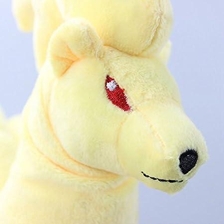Amazon.com: Pokemon Ninetales Plush Toys Cartoon Stuffed Dolls Brinquedo Kids Gift 10