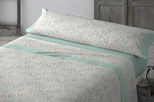 Clara Vidal Juego de sábana 3 Piezas 50% algodón: Amazon.es: Hogar