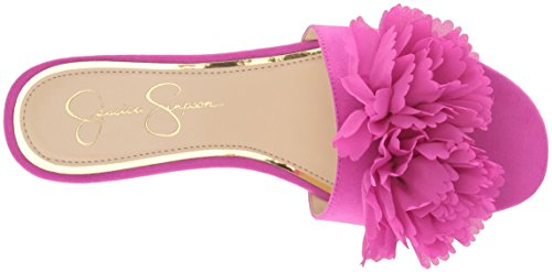 Jessica Simpson Kvinders Caralin Slide Sandal Hot Shot Pink FCNeg3s