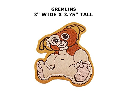 Gizmo Costume For Adults (Gremlins Gizmo Iron or Sew-on Patch)