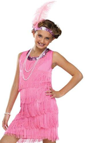 Pink Flapper Kids Costume (Pink Flapper Kids Costumes)