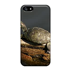 AlexandraWiebe Cases Covers For Iphone 5/5s - Retailer Packaging Another Happy Turtle Protective Cases