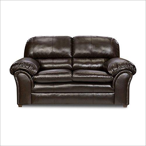 Simmons Upholstery 6159-02 Vintage Riverside Bonded Leather Loveseat