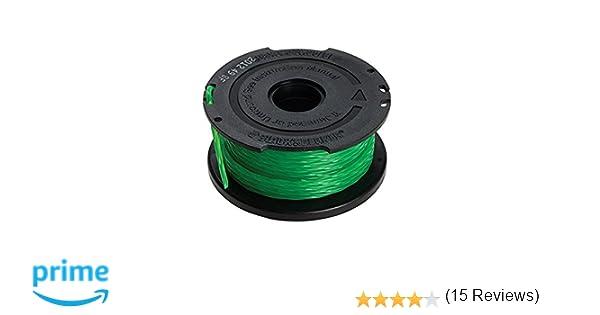 Black+Decker A6482-XJ - Bobina con hilo de 6mm de largo y 2mm de diámetro, para los modelos con sistema de alimentación Reflex Simple de 1 hilo: ...