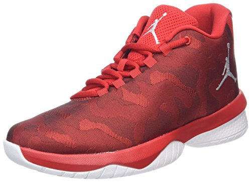 new arrival 9e806 3ce40 Nike Boys  Jordan B. Fly Bg Basketball Shoes, (University Red White), 3.5  UK  Amazon.co.uk  Shoes   Bags