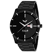 Vills Laurrens VL-1114 Stunning Black Day and Date Watch