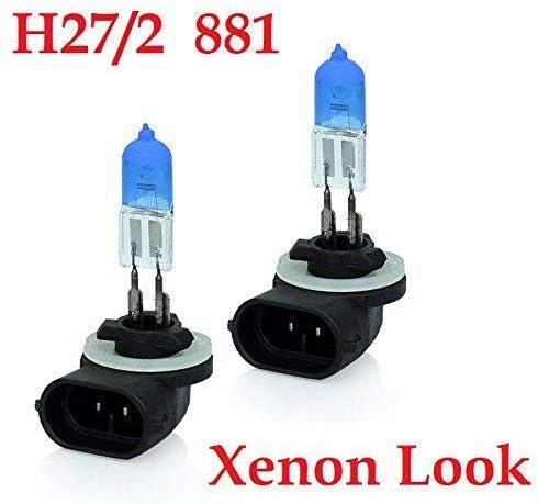 2xstück H27w 2 27w 881 Pgj13 12v Xenon Optik Lights Halogen Auto Lampen Für Abblendlicht Fernlicht Zusatzscheinwerfer Und Nebelscheinwerfer Chiavi Auto
