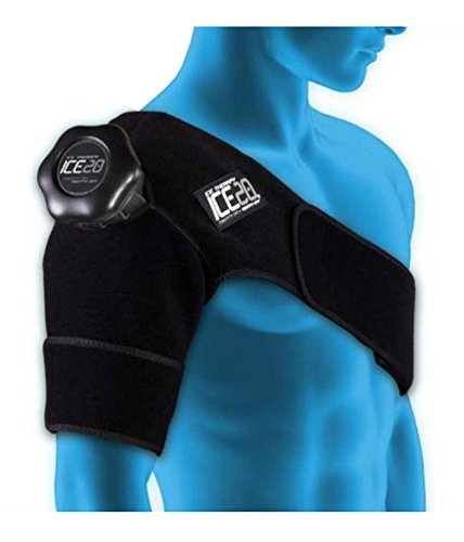 Nutritional Frontiers ICE20 Shoulder Ice Therapy Wrap, Si...