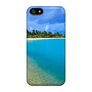 SherrilClaudette Fashion Protective Paradise Tropical Beach Lagoon Cases Covers For Iphone 5/5s