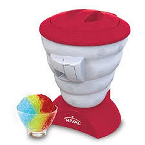 Rival Frozen Delights Snow Cone Maker, RED, MODEL FRRVISBZ-RED2