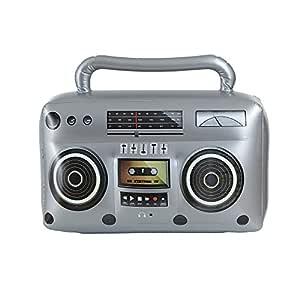 WIDMANN Radio Hinchable: Amazon.es: Juguetes y juegos
