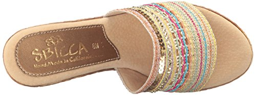 Women's Source Gold Sandal Sbicca Wedge P0FxS4xqw
