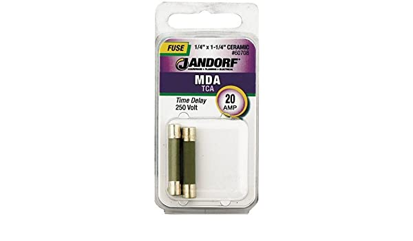 Jandorf Specialty Hardw Fuse Mda 25A Time Delay 60709