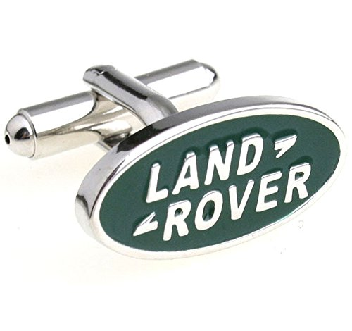 Promotioneer Men's Landrover Logo Symbol Fashion Shirt Cufflinks with Gift Box 29