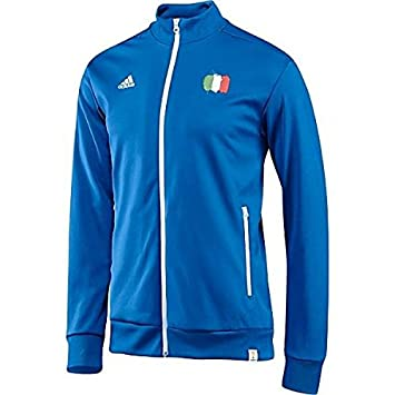 Adidas Color M Italia Fútbol Talla Chaqueta De Hombre Para qqOp7fr