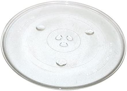 Qualtex Plato giratorio de cristal para microondas